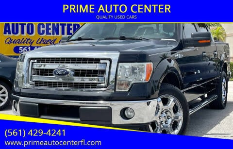 2013 Ford F-150 for sale at PRIME AUTO CENTER in Palm Springs FL