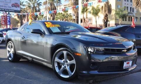 2015 Chevrolet Camaro for sale at AMC Auto Sales, Inc in San Jose CA