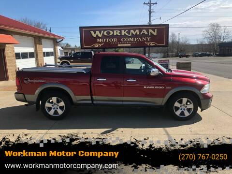 2011 RAM Ram Pickup 1500 for sale at Workman Motor Company in Murray KY