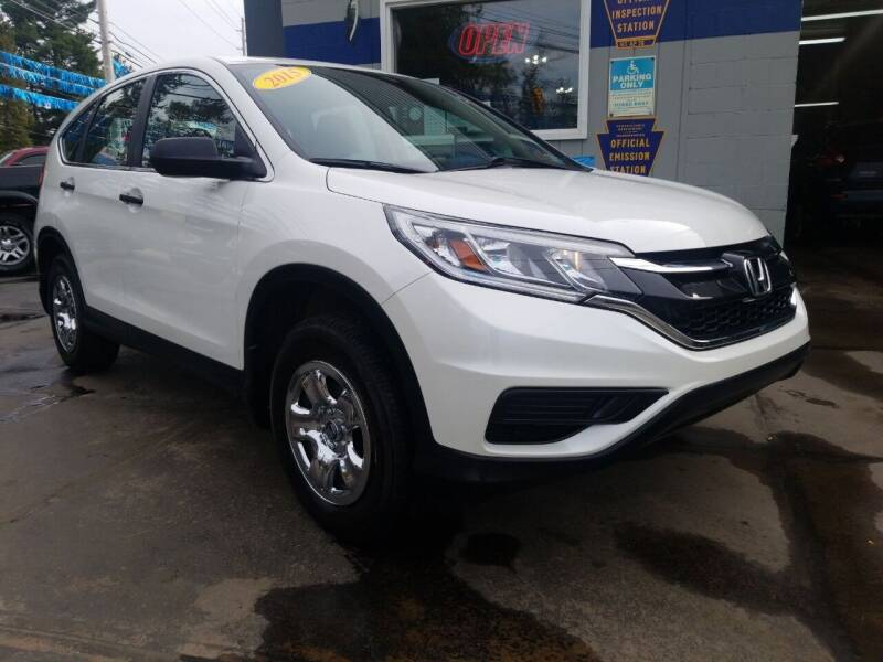2015 Honda CR-V for sale at Fleetwing Auto Sales in Erie PA