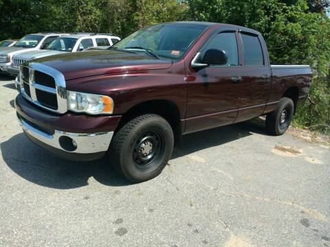 2004 Dodge Ram Pickup 1500 for sale at Auto Brokers of Milford in Milford NH