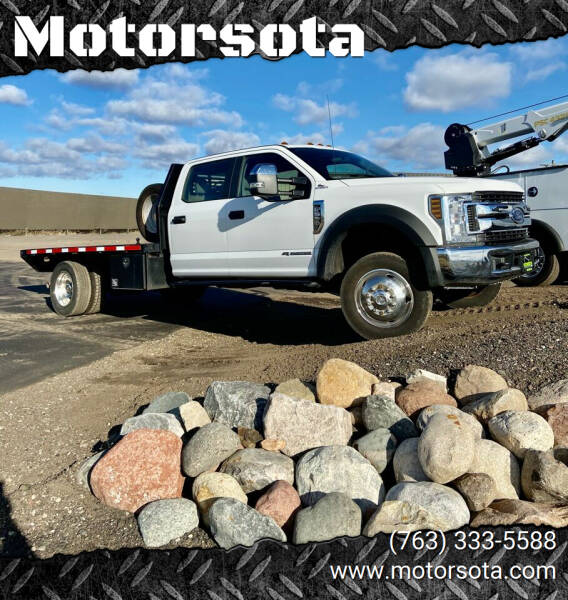 2019 Ford F-550 Super Duty for sale at Motorsota in Becker MN