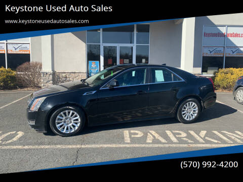 2011 Cadillac CTS for sale at Keystone Used Auto Sales in Brodheadsville PA