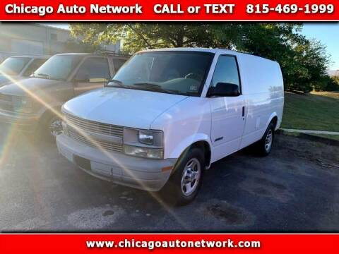 2004 Chevrolet Astro Cargo for sale at Chicago Auto Network in Mokena IL