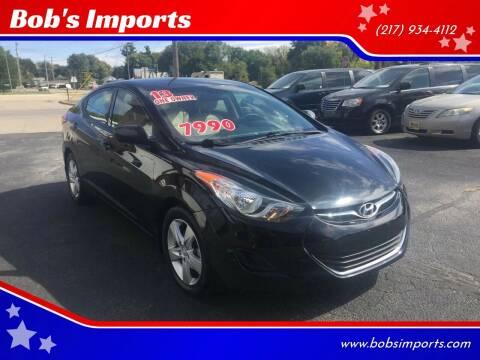 2013 Hyundai Elantra for sale at Bob's Imports in Clinton IL