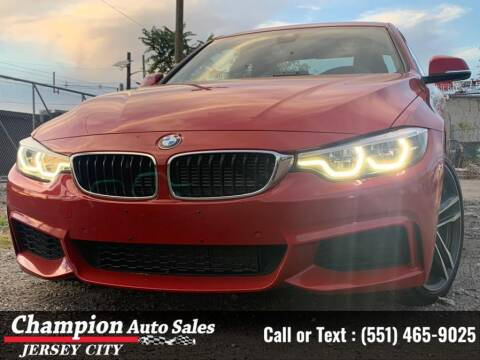2018 BMW 4 Series for sale at CHAMPION AUTO SALES OF JERSEY CITY in Jersey City NJ