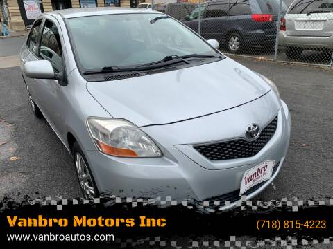 2010 Toyota Yaris for sale at Vanbro Motors Inc in Staten Island NY