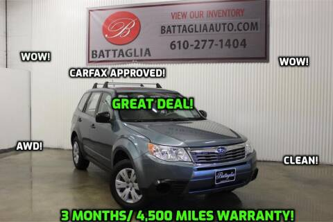 2009 Subaru Forester for sale at Battaglia Auto Sales in Plymouth Meeting PA