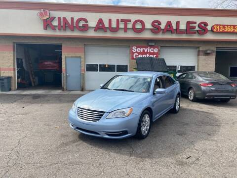 2012 Chrysler 200 for sale at KING AUTO SALES  II in Detroit MI