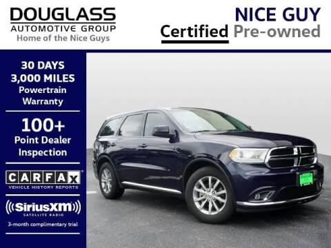 2018 Dodge Durango for sale at Douglass Automotive Group - Douglas Mazda in Bryan TX