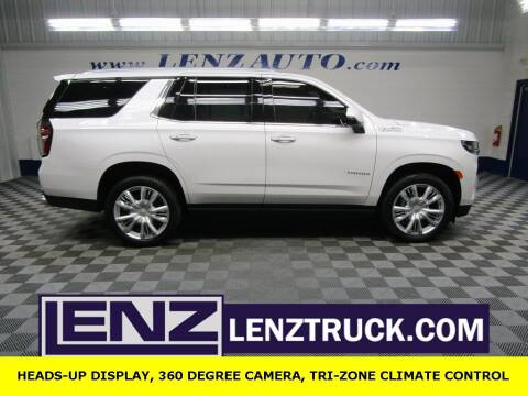 2021 Chevrolet Tahoe for sale at LENZ TRUCK CENTER in Fond Du Lac WI