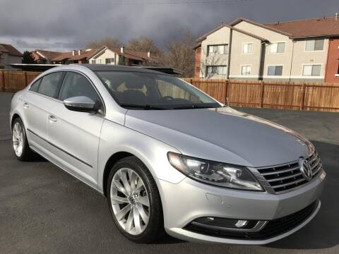 2013 Volkswagen CC for sale at INVICTUS MOTOR COMPANY in West Valley City UT