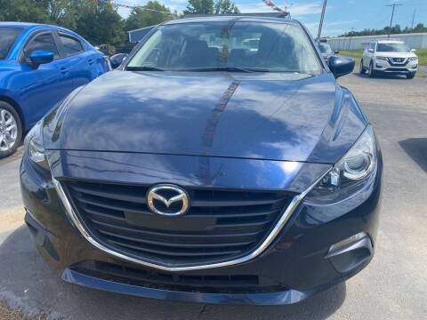2015 Mazda MAZDA3 for sale at BEST AUTO SALES in Russellville AR