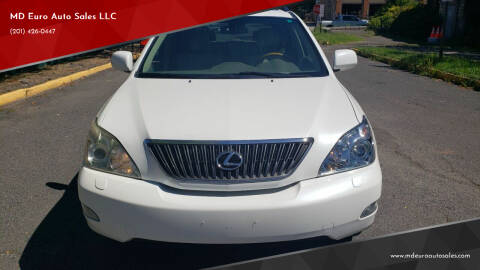 2007 Lexus RX 350 for sale at MD Euro Auto Sales LLC in Hasbrouck Heights NJ