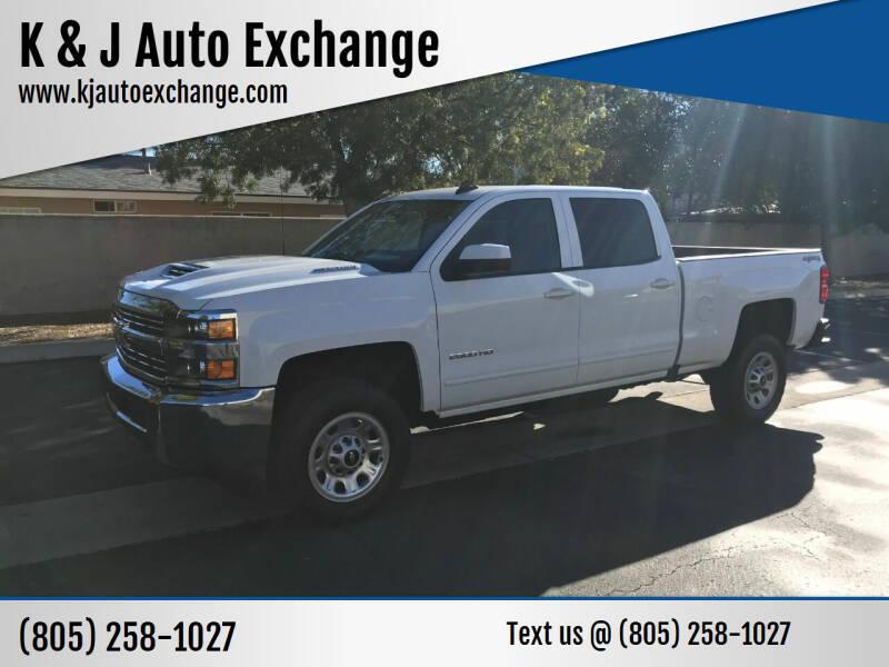 2017 Chevrolet Silverado 2500HD for sale at K & J Auto Exchange in Santa Paula CA