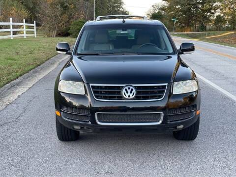 2004 Volkswagen Touareg for sale at Two Brothers Auto Sales in Loganville GA