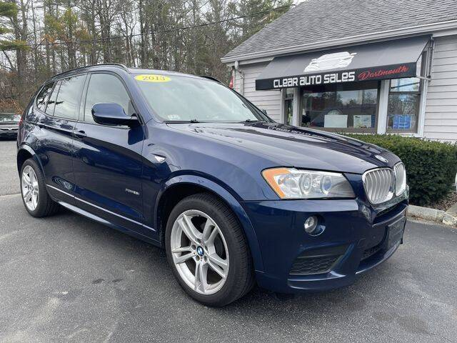2013 BMW X3 for sale at Clear Auto Sales 2 in Dartmouth MA