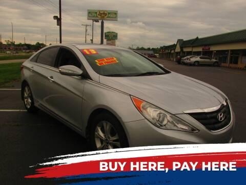 2013 Hyundai Sonata for sale at Auto World in Carbondale IL