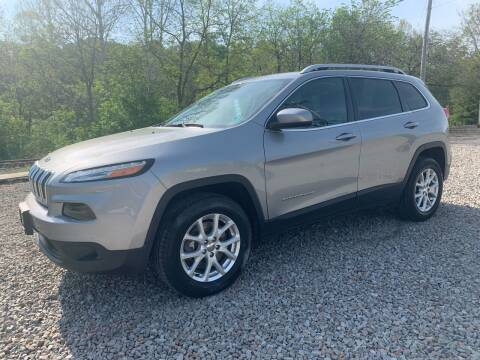 2017 Jeep Cherokee for sale at Reds Garage Sales Service Inc in Bentleyville PA