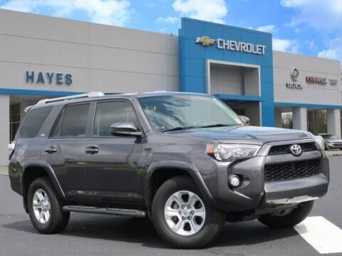 2016 Toyota 4Runner for sale at HAYES CHEVROLET Buick GMC Cadillac Inc in Alto GA