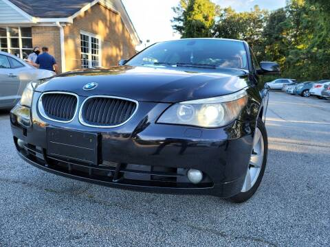 2006 BMW 5 Series for sale at Philip Motors Inc in Snellville GA