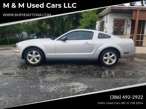 2007 Ford Mustang for sale at M & M Used Cars LLC in Daytona Beach FL