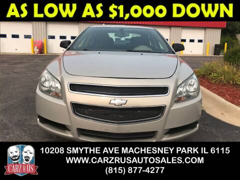 2011 Chevrolet Malibu for sale at Carz R Us in Machesney Park IL