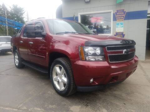 2008 Chevrolet Avalanche for sale at Fleetwing Auto Sales in Erie PA