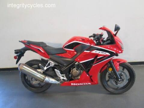 2017 Honda CBR 300R for sale at INTEGRITY CYCLES LLC in Columbus OH