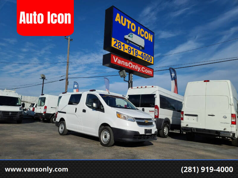 2017 Chevrolet City Express Cargo for sale at Auto Icon in Houston TX