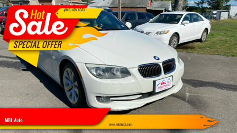 2012 BMW 3 Series for sale at MBL Auto in Fredericksburg VA