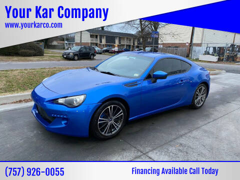 2013 Subaru BRZ for sale at Your Kar Company in Norfolk VA