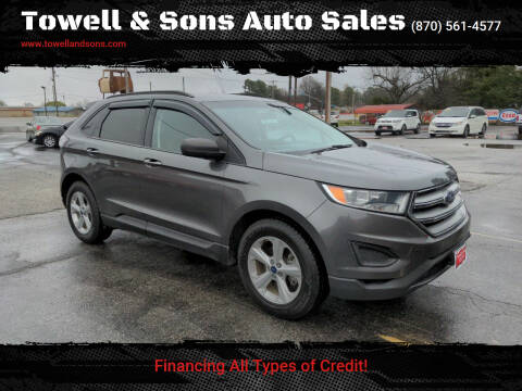 2016 Ford Edge for sale at Towell & Sons Auto Sales in Manila AR