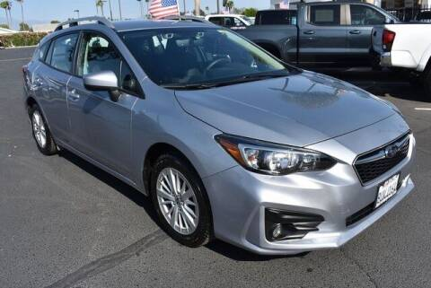 2018 Subaru Impreza for sale at DIAMOND VALLEY HONDA in Hemet CA