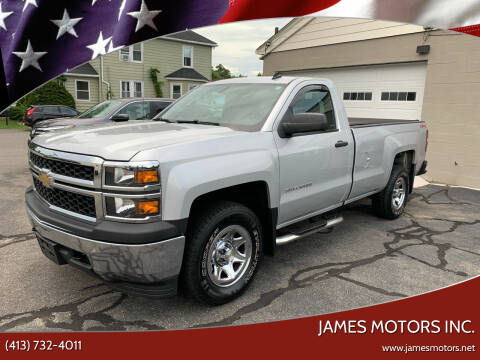 2014 Chevrolet Silverado 1500 for sale at James Motors Inc. in East Longmeadow MA