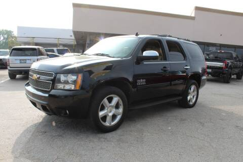 2013 Chevrolet Tahoe for sale at Flash Auto Sales in Garland TX