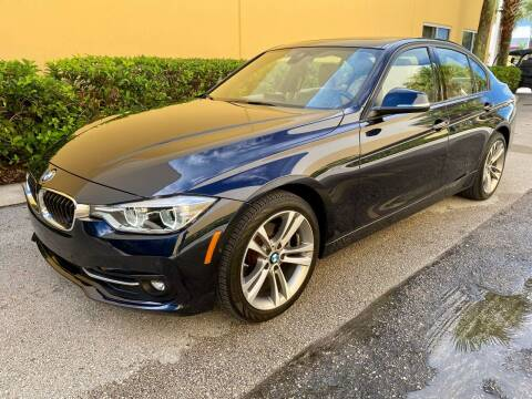 2016 BMW 3 Series for sale at DENMARK AUTO BROKERS in Riviera Beach FL