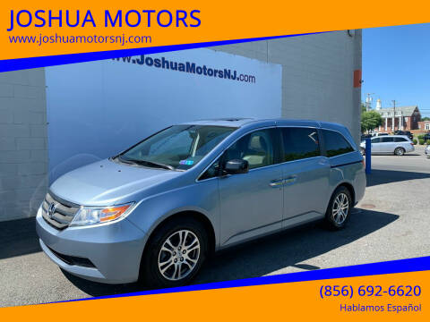 2013 Honda Odyssey for sale at JOSHUA MOTORS in Vineland NJ