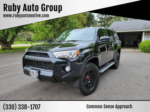 2018 Toyota 4Runner for sale at Ruby Auto Group in Hudson OH