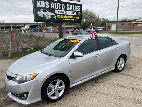2013 Toyota Camry for sale at KBS Auto Sales in Cincinnati OH