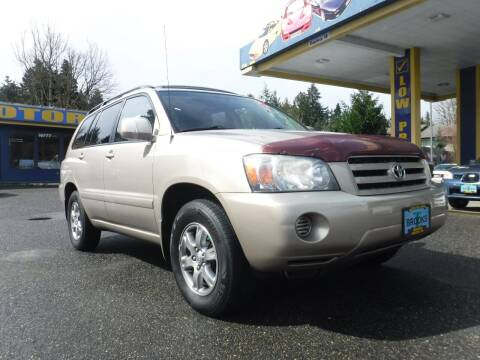 2005 Toyota Highlander for sale at Brooks Motor Company, Inc in Milwaukie OR