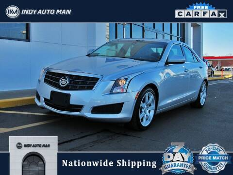 2013 Cadillac ATS for sale at INDY AUTO MAN in Indianapolis IN