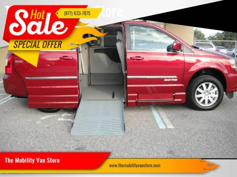2014 Chrysler Town and Country for sale at The Mobility Van Store in Lakeland FL