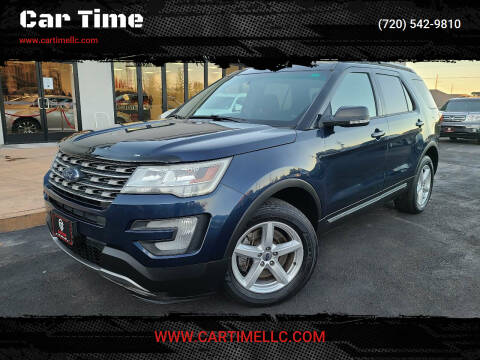 2016 Ford Explorer for sale at Car Time in Denver CO