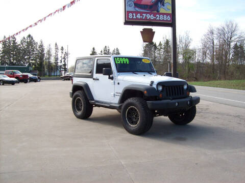 2013 Jeep Wrangler for sale at Summit Auto Inc in Waterford PA