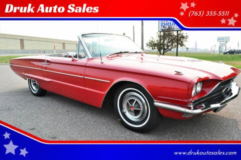1966 Ford Thunderbird for sale at Druk Auto Sales in Ramsey MN