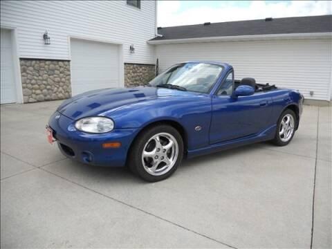 1999 Mazda MX-5 Miata for sale at OLSON AUTO EXCHANGE LLC in Stoughton WI