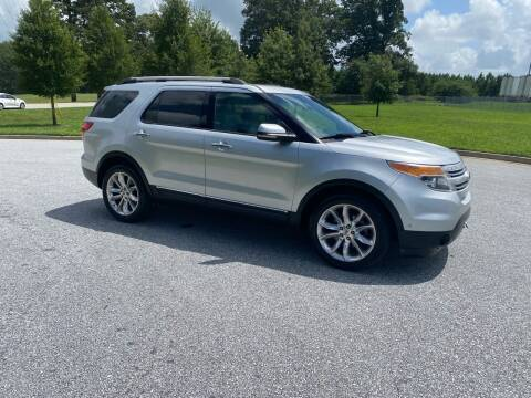 2012 Ford Explorer for sale at GTO United Auto Sales LLC in Lawrenceville GA