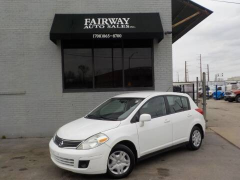 2012 Nissan Versa for sale at FAIRWAY AUTO SALES, INC. in Melrose Park IL