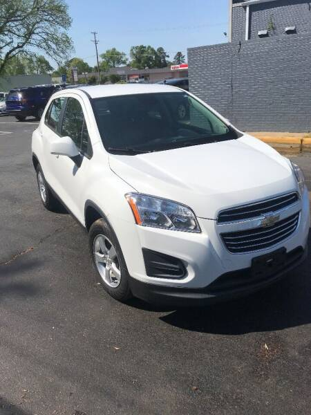 2015 Chevrolet Trax for sale at City to City Auto Sales - Raceway in Richmond VA